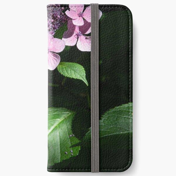 Flower in light iPhone Wallet