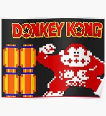 Donkey Kong Poster