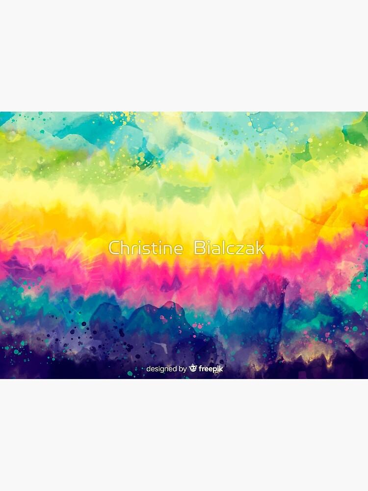 Tie Dye Waves by stinewriting