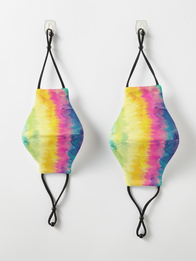 Alternate view of Tie Dye Waves Mask