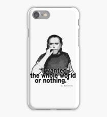 Charles Bukowski 4 iPhone Case/Skin