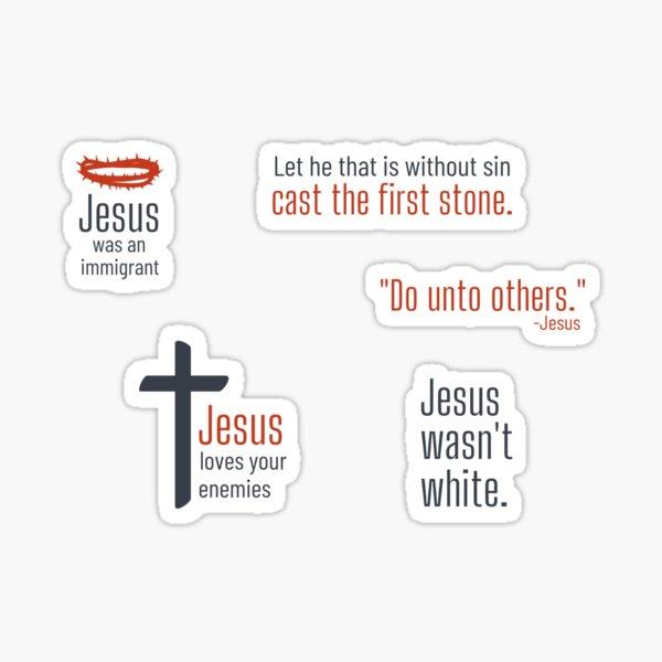 Radical Jesus Pack Sticker