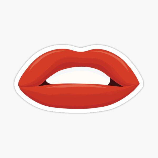 Marylin Monroe Lips Sticker