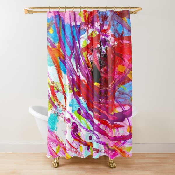 Untitled Tap II Collab Shower Curtain