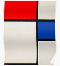 piet-mondrian-dutch--title-composition-no-ii.  Poster