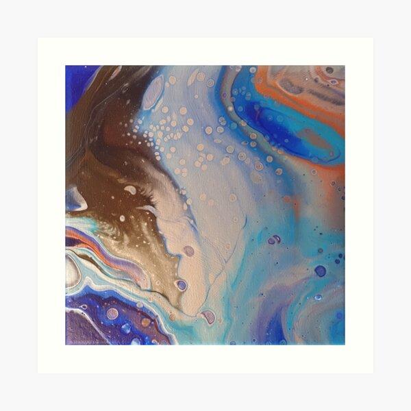 Planète bleue Impression artistique