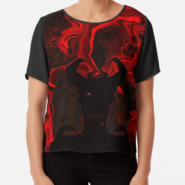 Demon of Hell Chiffon Top
