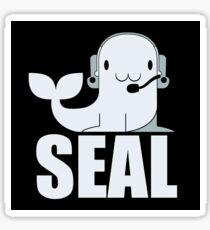 MOM SAYS I'M A NAVY SEAL Sticker