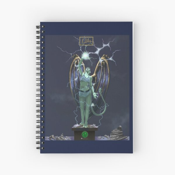 Uila for Grotesque Moi! Spiral Notebook