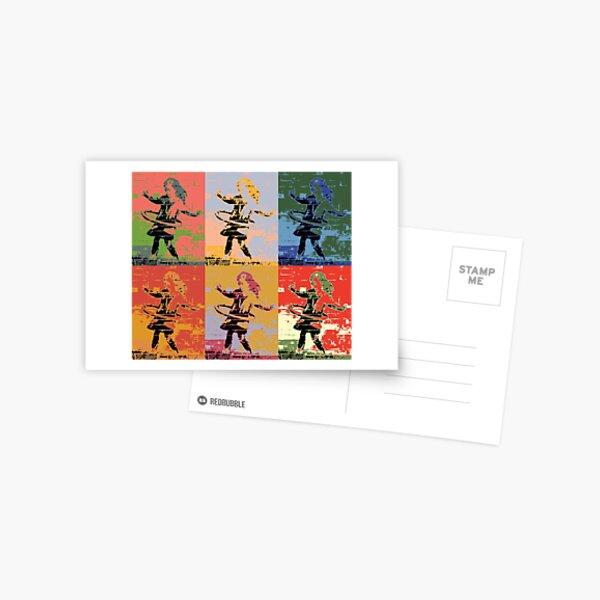 Tribute to Banksy 8 Postcard