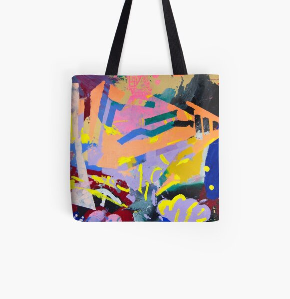 The Soccer Game Collab All Over Print Tote Bag