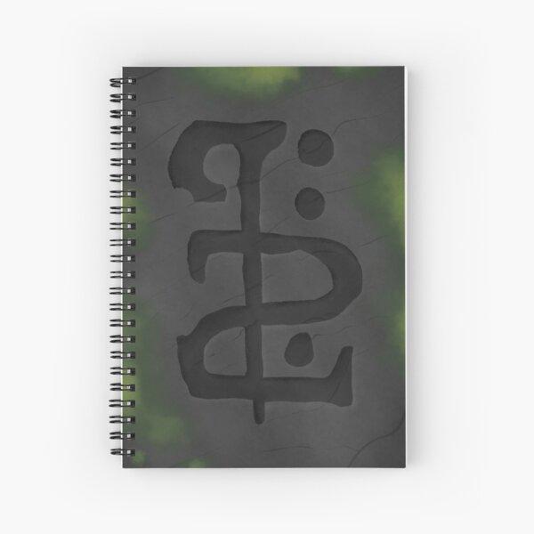 Journey Rune Spiral Notebook