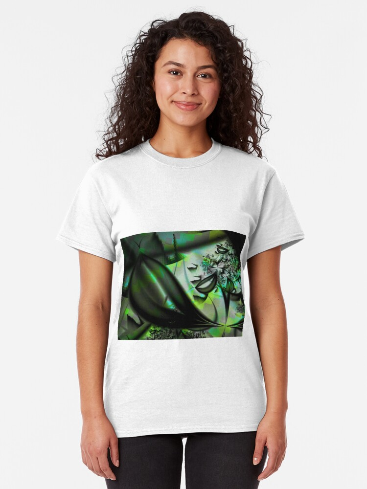 Alternate view of Leaves of Green Classic T-Shirt