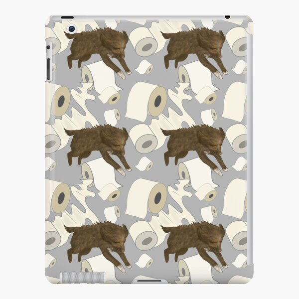 Toilet Paper Challenge with Fluffy Dogs iPad Snap Case