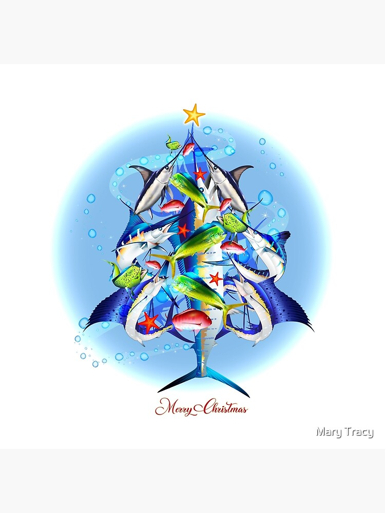 Sport Fishing Christmas by iColor4U