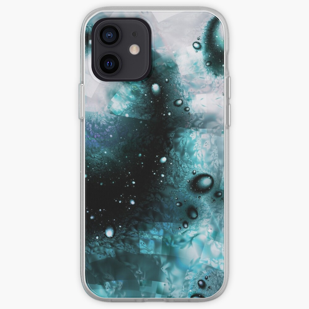Blue Orbs iPhone Case & Cover