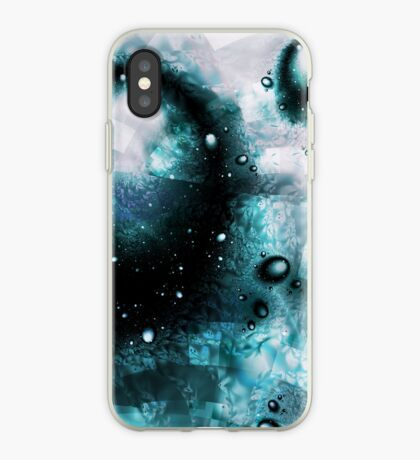 Blue Orbs iPhone Case