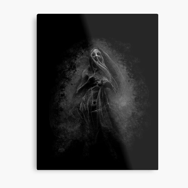 Lady of the Wake by David Noceti Metal Print