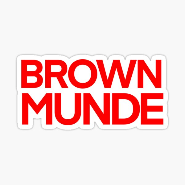 Brown Munde Sticker - AP Dhillon Sticker