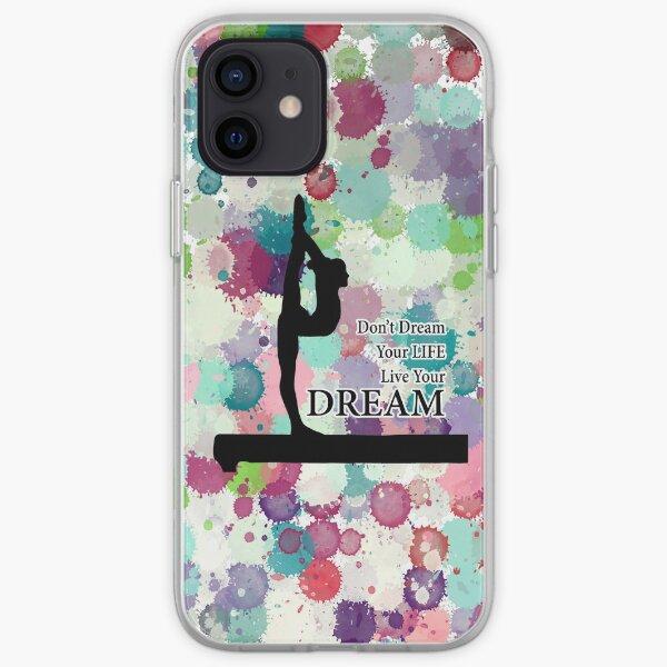 Gymnastics Live Your Dream Design iPhone Soft Case