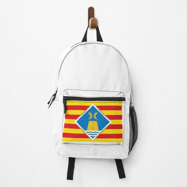 Spanien). Español: Bandera de Formentera (Islas Baleares Rucksack