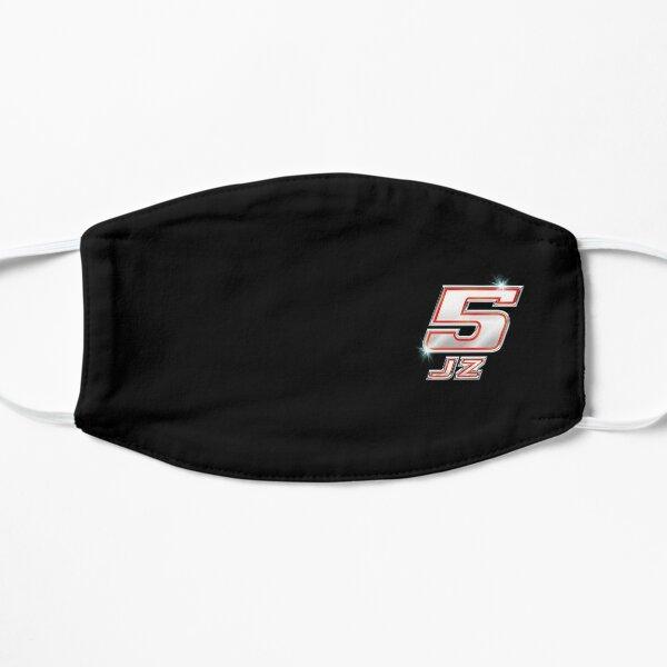 5 JZ - Numéro chromé Masque sans plis