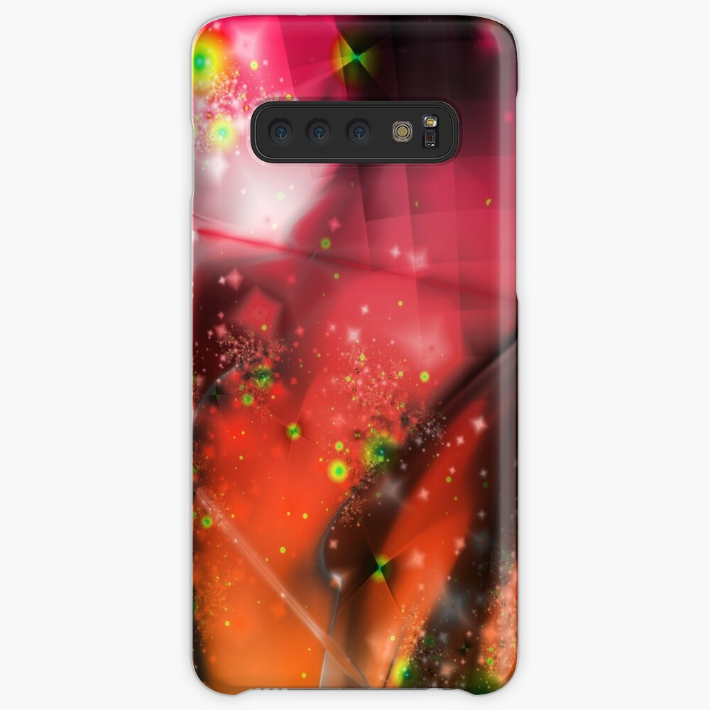 Pink Orange Dream Case & Skin for Samsung Galaxy