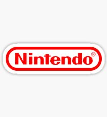 Nintendo logo HQ Sticker