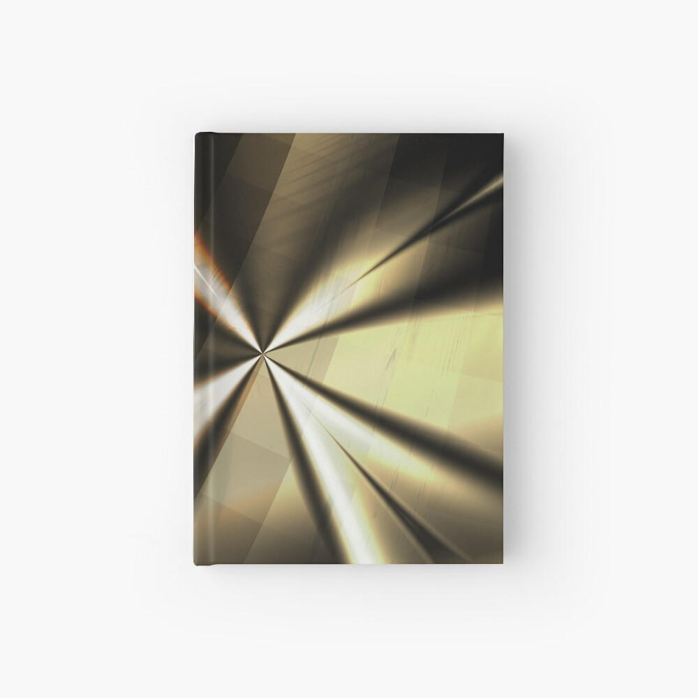 Brown and Gold Minimal Art Hardcover Journal