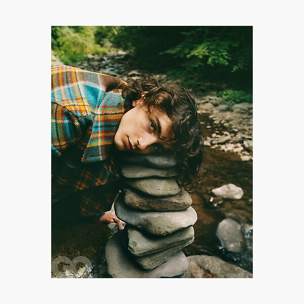 timothee chalamet Photographic Print