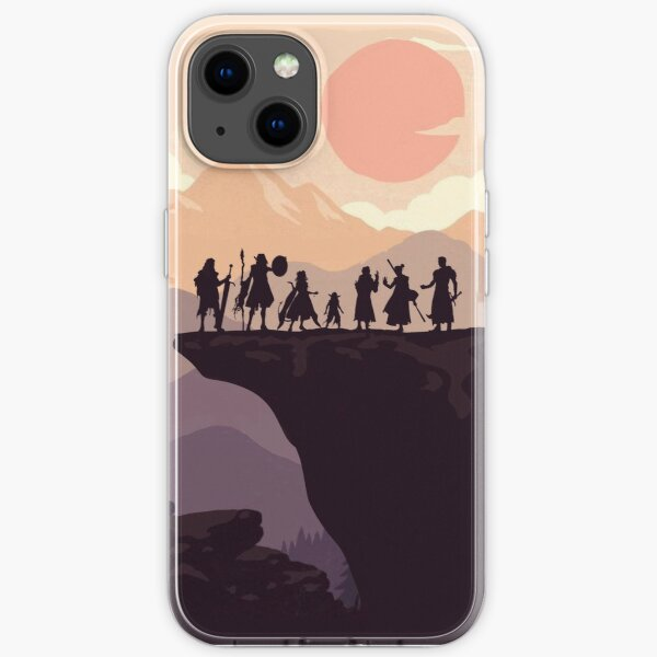 The Mighty Nein in Sunset iPhone Soft Case