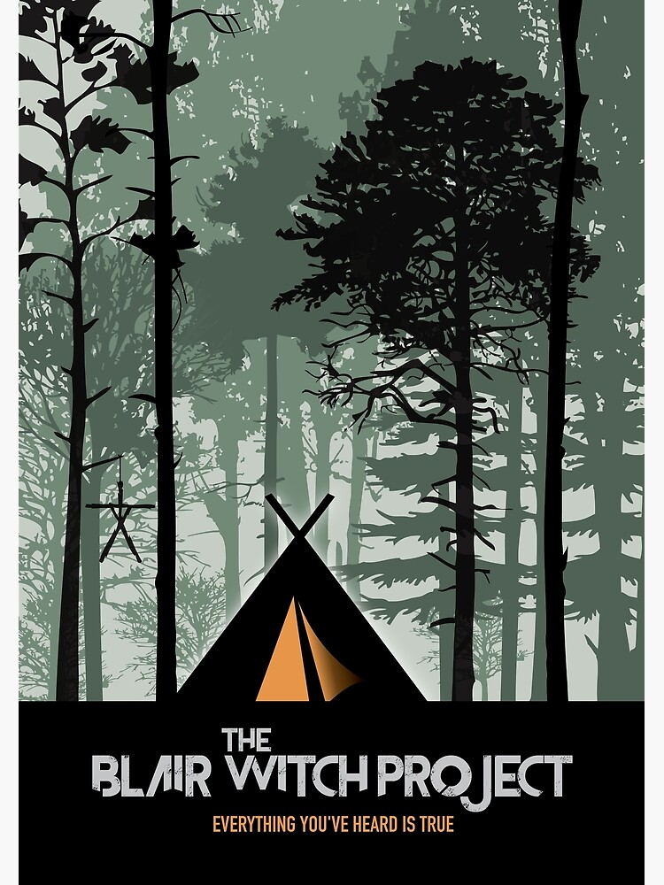 The Blair Witch Project - Alternative Movie Poster by MoviePosterBoy