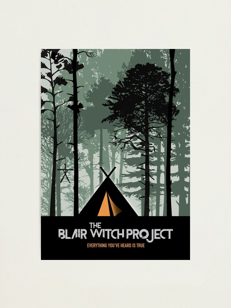 Alternate view of The Blair Witch Project - Alternative Movie Poster Photographic Print