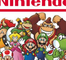 Nintendo party logo HQ Sticker