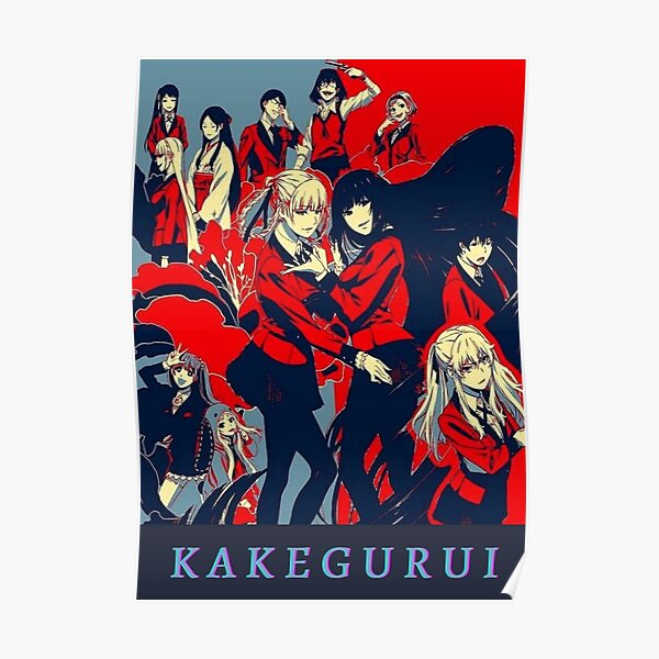 Yumeko et Kirari Kakegurui Poster