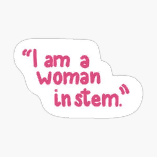 """3"""" F You Independent Girl Power Pink Feminist Strong Equality Woman Sticker"""