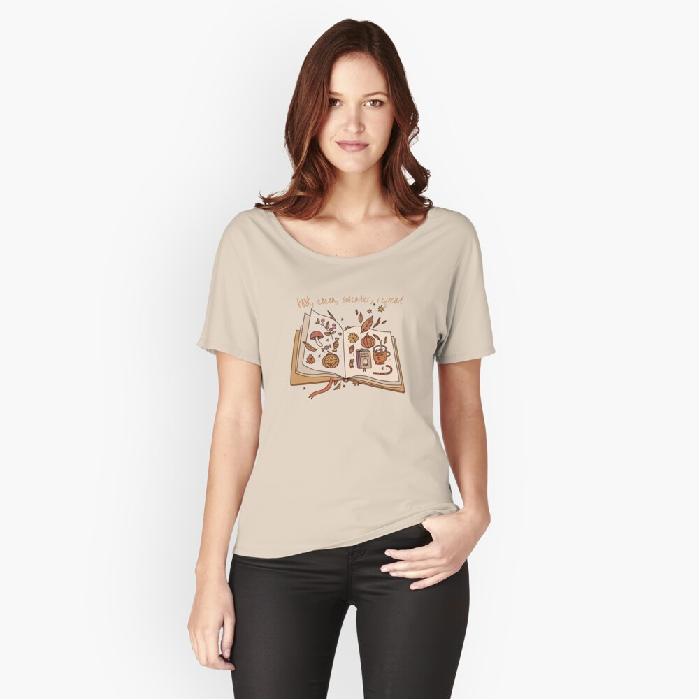 Fall Vibes Relaxed Fit T-Shirt