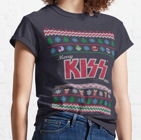 KISS ® the Band - Merry KissMas Ugly Sweater Classic T-Shirt