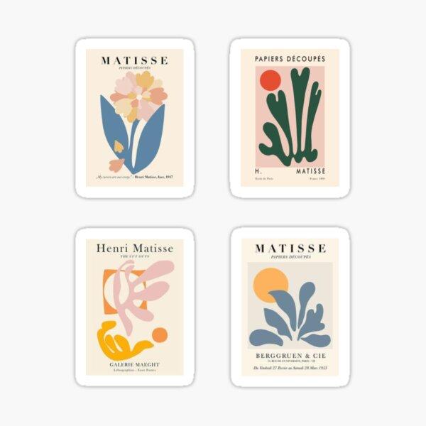 Modern Matisse Sticker