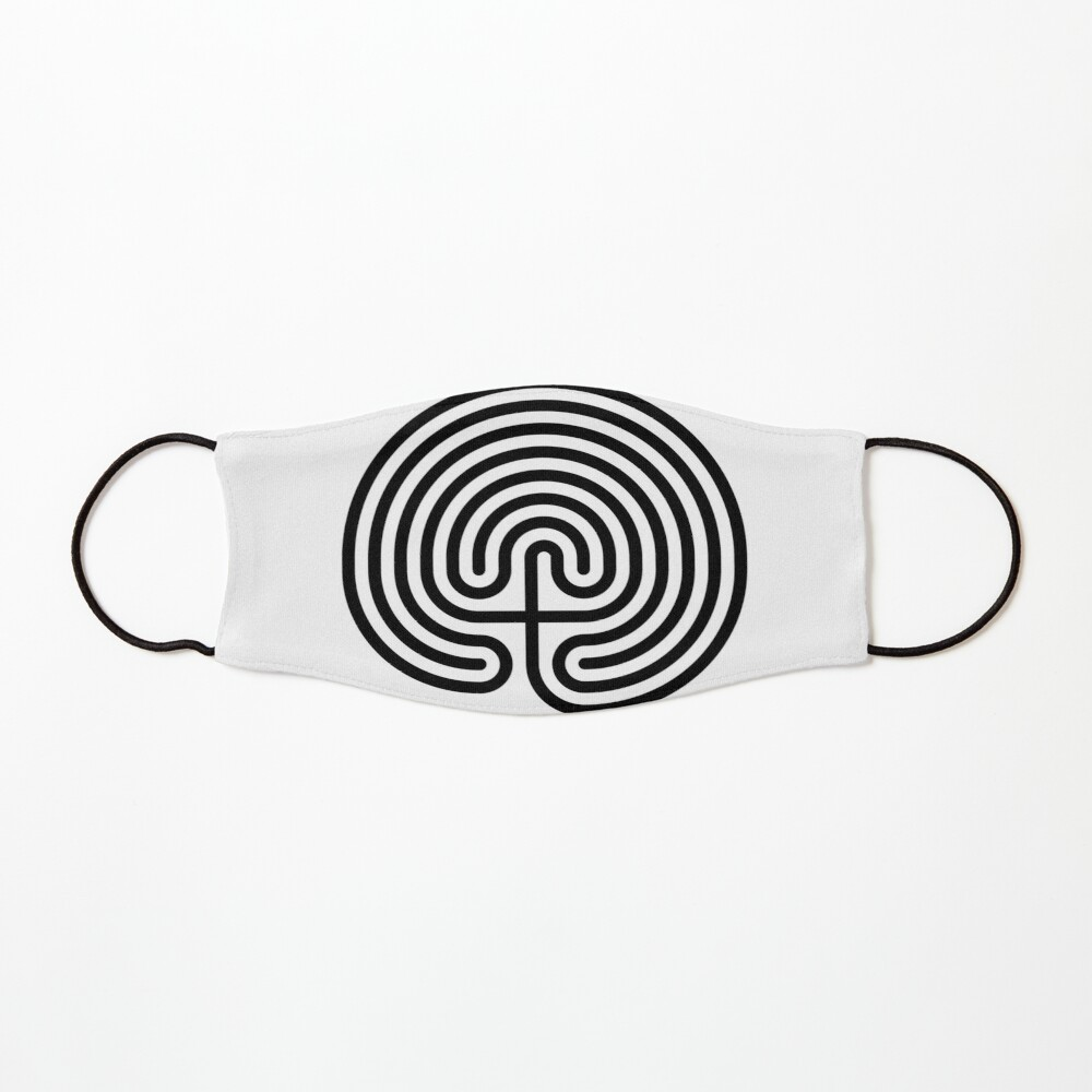 #Cretan, #labyrinth, Cretanlabyrinth Mask
