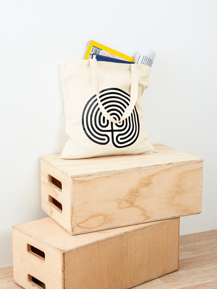 Alternate view of #Cretan, #labyrinth, Cretanlabyrinth Tote Bag