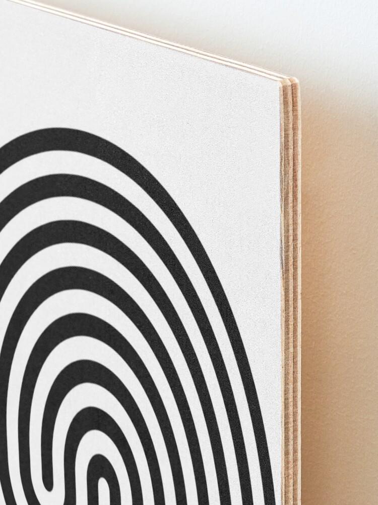 Alternate view of #Cretan, #labyrinth, Cretanlabyrinth Mounted Print