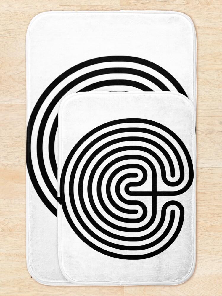 Alternate view of #Cretan, #labyrinth, Cretanlabyrinth Bath Mat