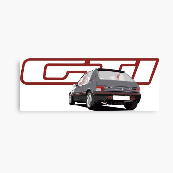 Peugeot 205 Impression sur toile