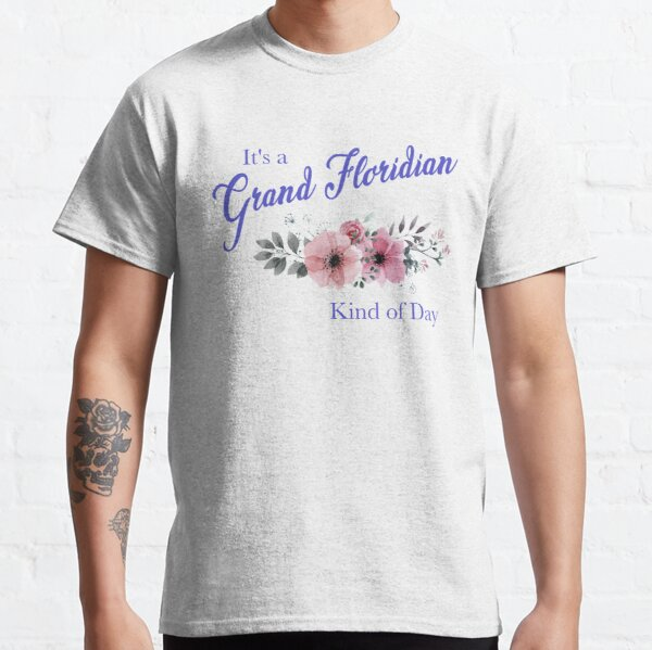 It's a Grand Floridian Kind of Day (Roses) Classic T-Shirt