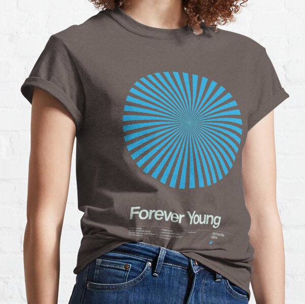 Alphaville - Forever Young - 1984 - New Wave Song Swiss Design Series Classic T-Shirt