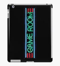 Neon Sign - Game Room iPad Case/Skin