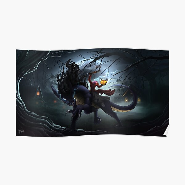 Headless Dragon Rider Poster