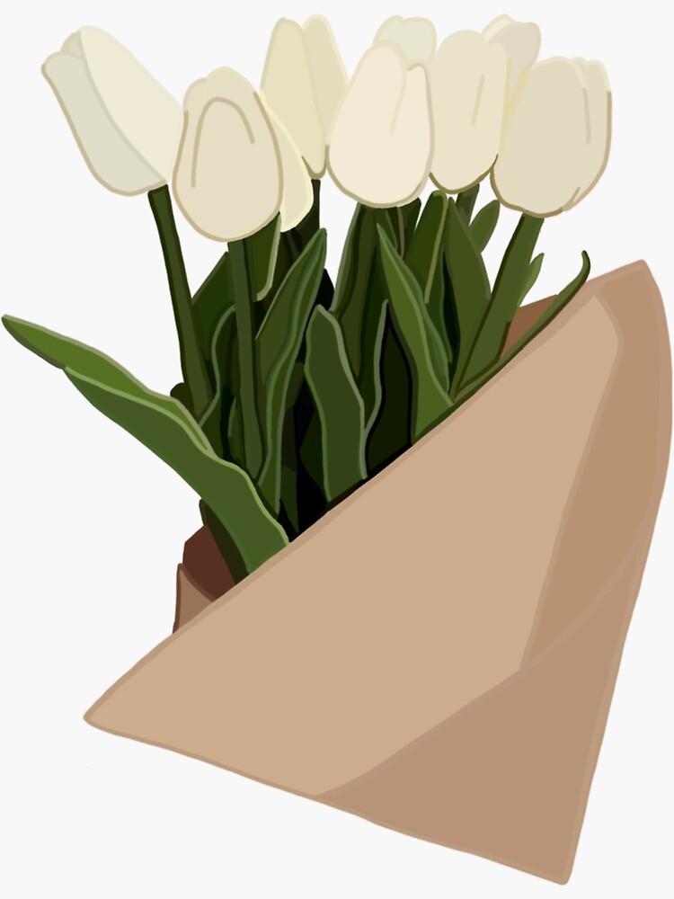 White Tulips by namnamnam
