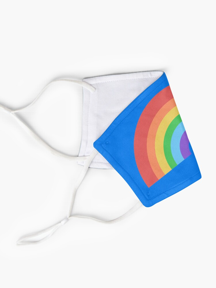 Alternate view of Happy Little Rainbow Mask